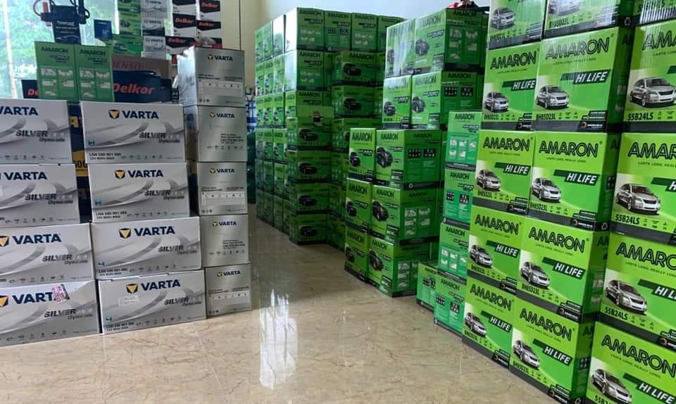 Ắc quy ở cửa hàng HD Việt